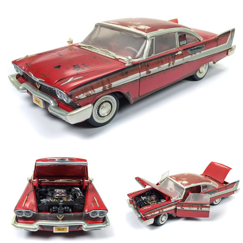 1:18 Scale Diecast - Christine - Christine (Dirty Version) (Plymouth Fury '58)